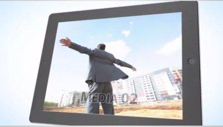 پروژه زیبای اپل موشن-Tablet Presentation