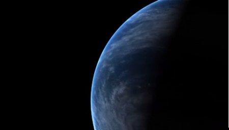 دانلود بک گراند کروماکی چرخش زمین در فضا