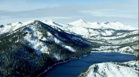 دانلود فوتیج کوهستان برفی با کیفیت 4K Ultra HD