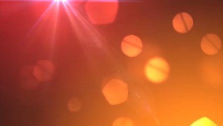 دانلود بک گراند موشن پارتیکل های مات در نور نارنجی