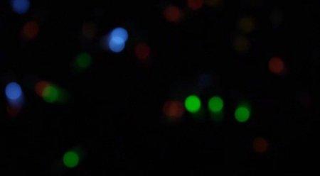 دانلود فوتیج  slow motion حرکت نور های مات