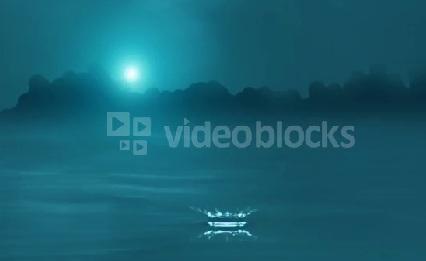 دانلود بک گراند موشن زیبای چکیدن قطره آب در دریاچه