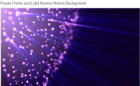 دانلود فوتیج زیبای حرکت پرتوهای زیبا بنفش
