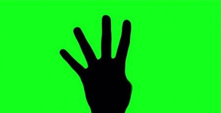 دانلود فوتیج زیبای شمارش معکوس با دست