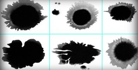 دانلود مجموعه فوتیج های کروماکی پاشیدن جوهر از شرکت ویدیو هایو