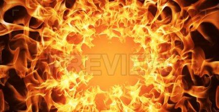 دانلود بک گراند ویدیویی موشن شعله های آتش