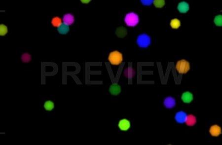 دانلود موشن گرافیک نقطه های بوکه رنگارنگ