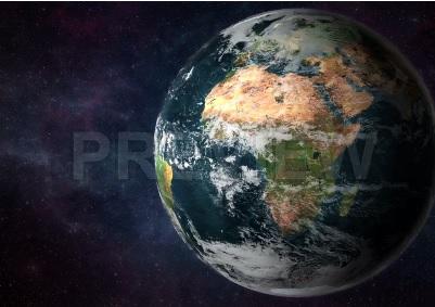 دانلود فوتیج حرکت ماه اطراف زمین